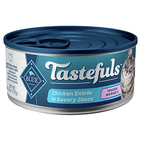 Blue Buffalo Tastefuls Adult Cat Food Chicken In Gravy - 5.5 OZ