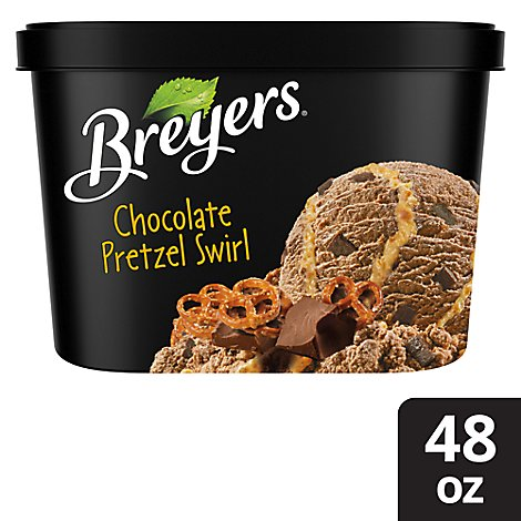 Breyers Ice Cream Pretzel Swirl - 1.5 QT