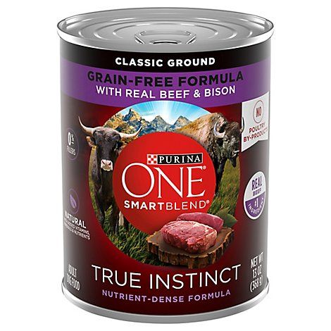 Purina One Smartblend True Instinct Beef - 13 OZ