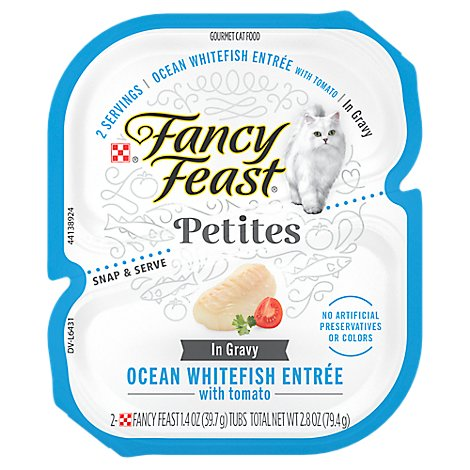 Purina Fancy Feast Whitefish - 2.8 OZ