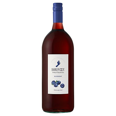 Barefoot Cellars Fruit-scato Blueberry Moscato Wine - 1.5 LT