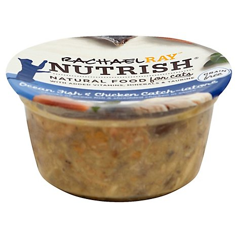 Rachael Ray Nutrish 2.8 Ounce Ocean Fish And Chicken Catch-iatore Grain Fre - 2.8 OZ