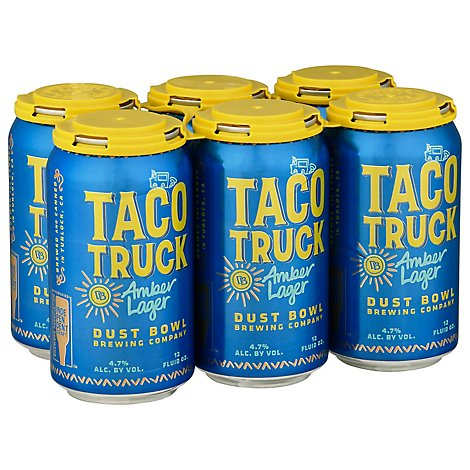 Dust Bowl Taco Truck Amber Can - 6-12 FZ