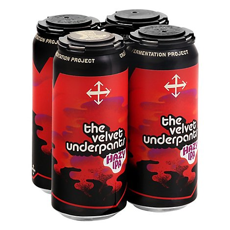 The Velvet Underpants Hazy Ipa In Cans - 4-16 FZ