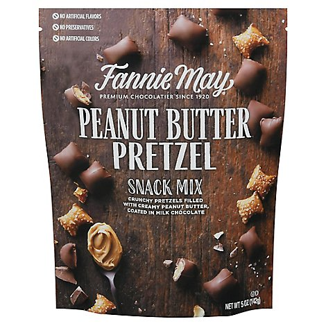 Fannie May 5oz Pb Pretzel Snack Mix Premium Bag - 5 OZ