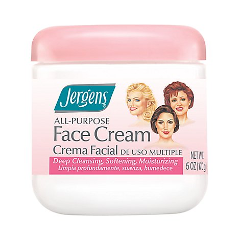 Jergens All Purpose Face Cream - 6 FZ