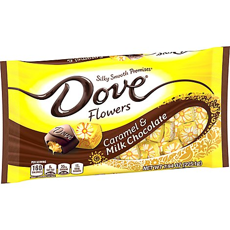 Dove Promises Chocolate Candy Caramel & Milk Chocolate Easter - 7.94 Oz