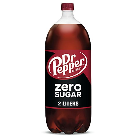 Zero Sugar Dr Pepper 2 L Bottle - 67.6 FZ