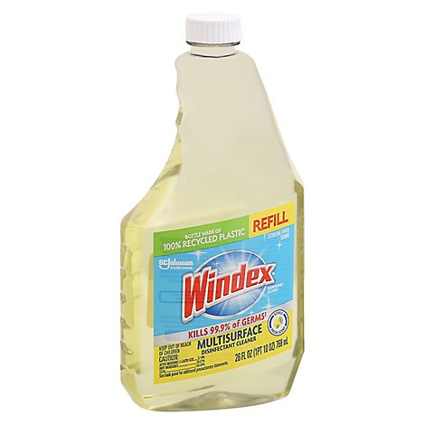 Windex Cleaner Disinfectant Refill Citrus Fresh - 26 Fl. Oz.