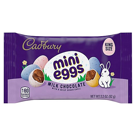 Hshy Cadbury Coated Mini Egg - 2.2 OZ