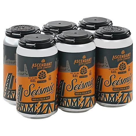 Ascendant Seismic Ipa In Cans - 6-12 FZ