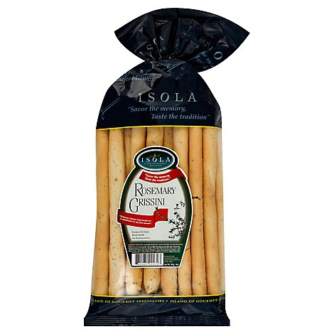 Isola Grissini Garlic Rosemary - 7.76 OZ