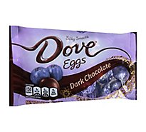 Dove Chocolate Candy Dark Chocolate Easter Eggs - 8.87 Oz