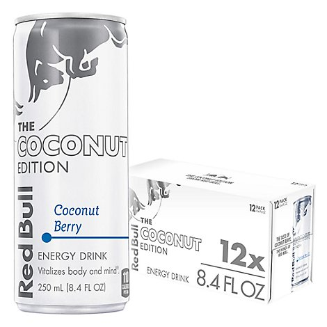 Red Bull Energy Drink Coconut Berry - 12-8.4 Fl. Oz.