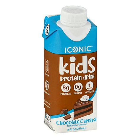 Iconic Kids Protein Rtd Chocolate - 8 FZ