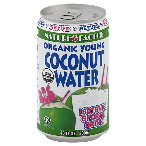 Nature Factor Coconut Water Young Orgnc - 10.1 FZ