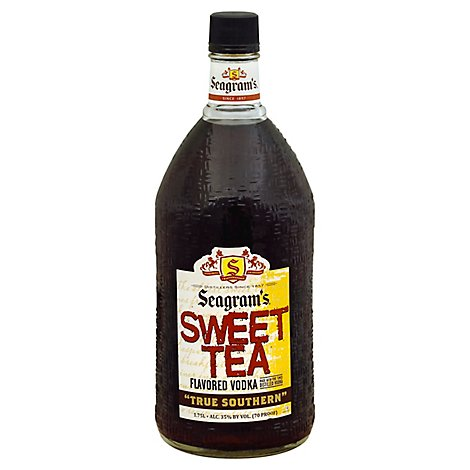 Seagrams Sweet Tea Vodka - 1.75 LT