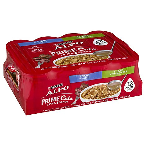Purina Alpo Prime Cuts Mixed Vp - 12-13 OZ