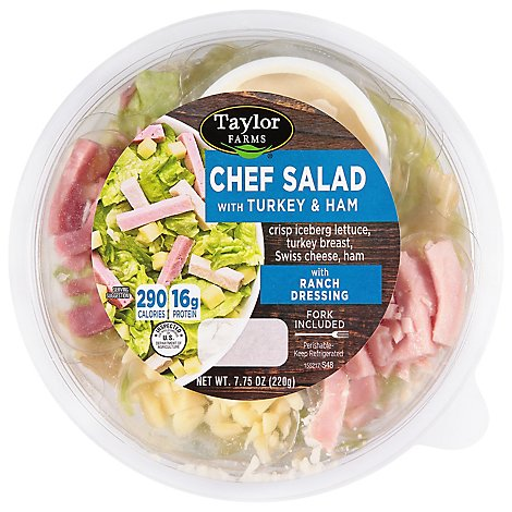 Taylor Farms Sald Chef - 7.75 OZ
