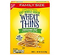 Nbc Wheat Thins Cracker Reduced Fat - 12.5 OZ