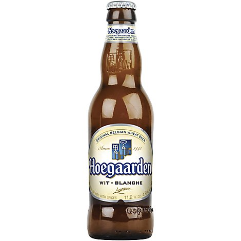 Hoegaarden Wheat Beer Bottles - 6-11.2 FZ