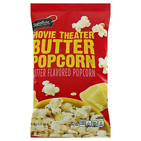 Signature Select Popcorn Movie Theater Butter - 5.15 OZ