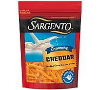 Sargento Creamery Cheddar Cheese Shred - 6 OZ