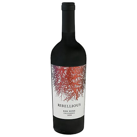 Rebellious California Red Blend Wine - 750 ML