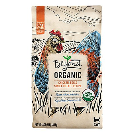 Purina Beyond Organic Chicken & Egg Cat Food - 3 LB
