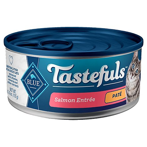 Tastefuls Adult Cat Salmon Entree Pate - 5.5 OZ