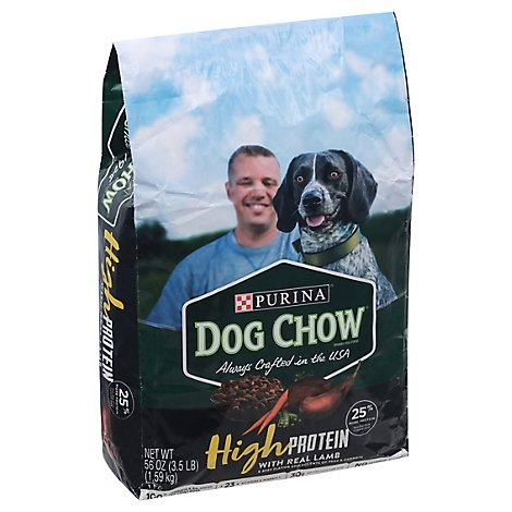 Purina Dog Chow High Protein Lamb - 3.5 LB
