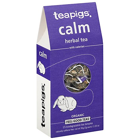 Teapigs Tea Herbal Calm Organic - 15 CT
