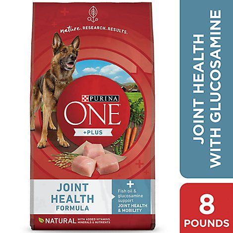 Purina One Joint Health Dog Food - 8 LB