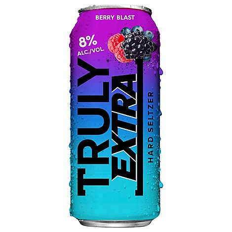 Truly Extra Hard Seltzer Black Raspberry - 16 Fl. Oz.