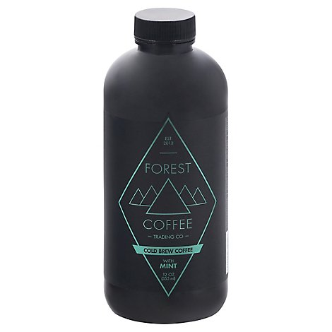 Forest Coffee Trading Rtd Cold Brew Mint - 12 OZ