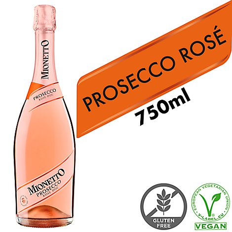 Mionetto Prosecco Sparkling Wine Prestige Rose - 750 Ml