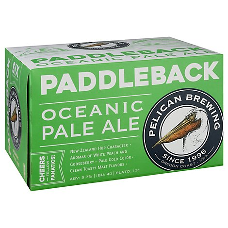 Pelican Paddleback 6/12c In Cans - 6-12 FZ