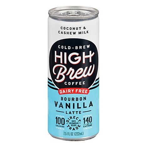 High Brew Bourbon Vanilla Latte - 8 OZ