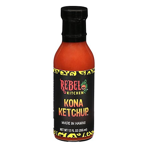 Rebel Kitchen Kona Ketchup - 12 OZ