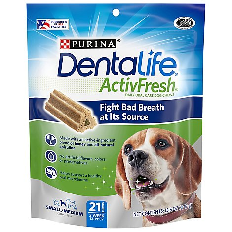 Purina Dentalife Activ Fresh Small/medium - 15.485 OZ