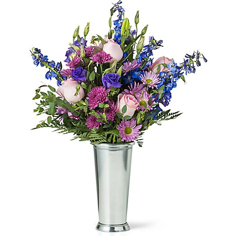 Lux Mixed Arrangement With Vase - Each (flower colors and vase will vary)