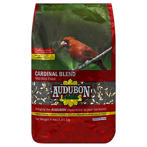 Audubon Cardinal Bird Food - 4 LB