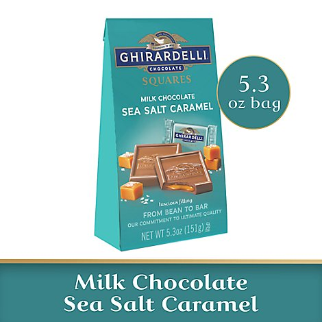 Ghrdl Mc Sea Salt Crml Sqrs Med Bag - 5.3 OZ