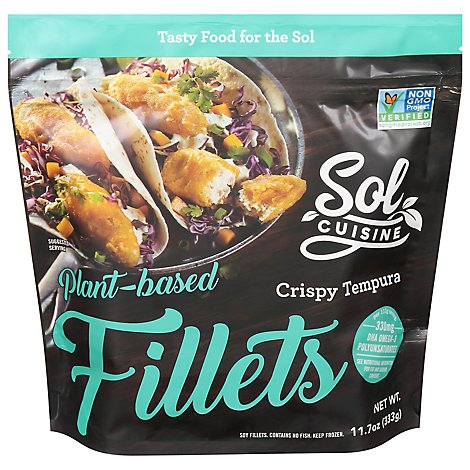 Sol Cuisine Fillets Fishless Tempura - 11.7 OZ