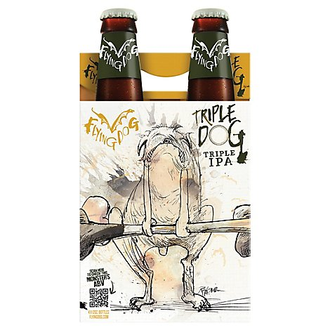 Flying Dog Bourbon Barrel Gonzo Btls - 4-12 FZ