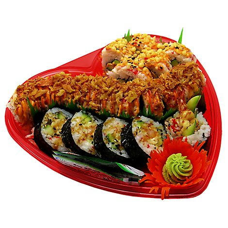 Afc Sushi Happy Heart Platter - 24 OZ