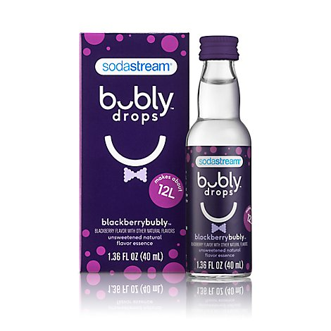 Sodastream Bubly Drops Unswt Blackberry - 40 ML