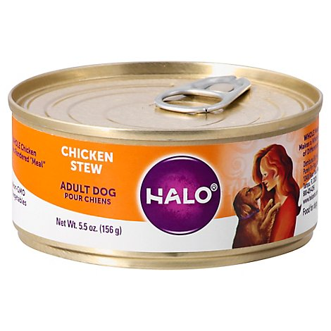 Halo Dog Food Chicken Stew - 5.5 OZ