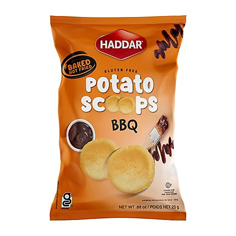 Haddar Potato Snacks Bbq - .88 OZ