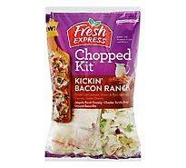 Fresh Express Kickin Bacon Ranch Chopped Kit - 10.2 OZ